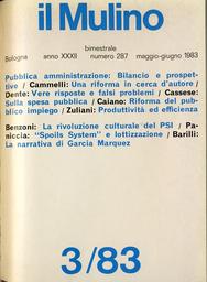 Copertina del fascicolo dell'articolo Poteri di nomina e