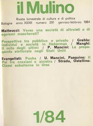 Copertina del fascicolo dell'articolo Dal plusvalore al pluspotere