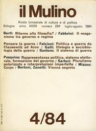 Copertina del fascicolo dell'articolo Corpo