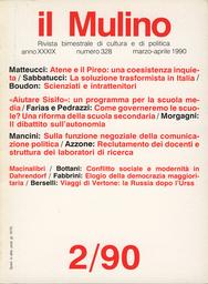 Copertina del fascicolo dell'articolo Un ricordo