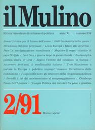 Copertina del fascicolo dell'articolo Gioco di specchi. L'Europa di fronte all'Islam