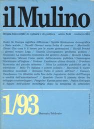 Copertina del fascicolo dell'articolo La dissoluzione della Jugoslavia: un crimine dell'Europa