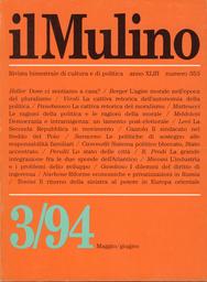 Copertina del fascicolo dell'articolo Il problema dell'agire morale nell'età del pluralismo