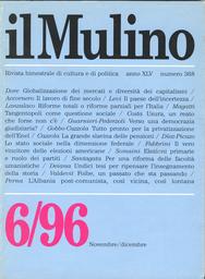 Copertina del fascicolo dell'articolo Ingegneria o fisiologia istituzionale: riflessioni sulle riforme in Italia