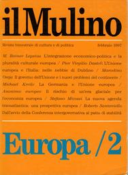 Copertina del fascicolo dell'articolo La Germania e l'Unione europea