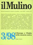 cover del fascicolo, Fascicolo arretrato n.3/1998 (maggio-giugno)