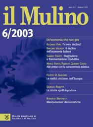 Copertina del fascicolo dell'articolo Nuovo codice e sicurezza della scienza