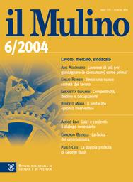 Copertina del fascicolo dell'articolo L'economia europea e i rapporti con l'America
