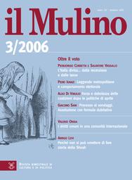 Copertina del fascicolo dell'articolo La disciplina delle convivenze di fatto fra diritto e politica