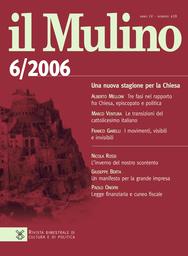 Copertina del fascicolo dell'articolo Il convegno di Verona