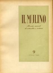 Copertina del fascicolo dell'articolo Editoriale