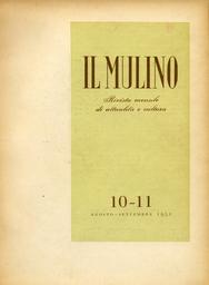 Copertina del fascicolo dell'articolo Pubblicità quinto potere (Osservazioni linguistiche)