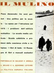 Copertina del fascicolo dell'articolo I problemi del Belgio e il Governo Lefèvre