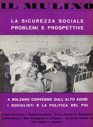 Copertina del fascicolo dell'articolo La sicurezza sociale in Italia: situazioni, problemi, prospettive