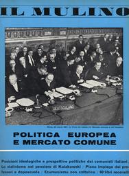 Copertina del fascicolo dell'articolo L'Inghilterra e il Mercato Comune