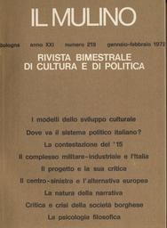 Copertina del fascicolo dell'articolo Il complesso militare-industriale e l'Italia