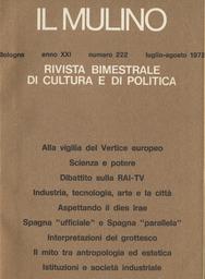Copertina del fascicolo dell'articolo Interpretazioni del grottesco