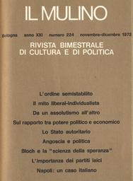 Copertina del fascicolo dell'articolo Lo Stato autoritario (1942)