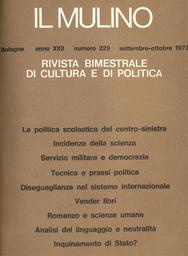Copertina del fascicolo dell'articolo Diseguaglianze e ordine nel sistema internazionale