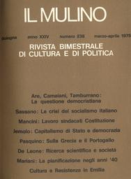 Copertina del fascicolo dell'articolo Ricerca scientifica e società