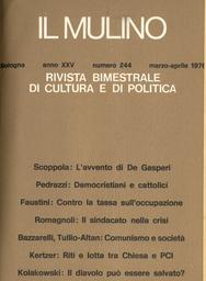 Copertina del fascicolo dell'articolo Il sindacato nella crisi
