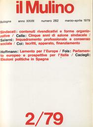 Copertina del fascicolo dell'articolo Le difficoltà della rivendicazione: cinque anni di azione sindacale 1973-1978
