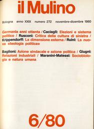 Copertina del fascicolo dell'articolo La nuova