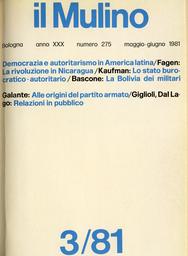 Copertina del fascicolo dell'articolo Alle origini del partito armato
